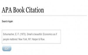 apa book citation result